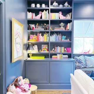 This playroom was an absolute dream to organize 🌈