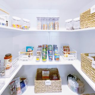 We transformed @catchingupwithkels pantry with some of our favorite organizing products 💫 Swipe to see the before!