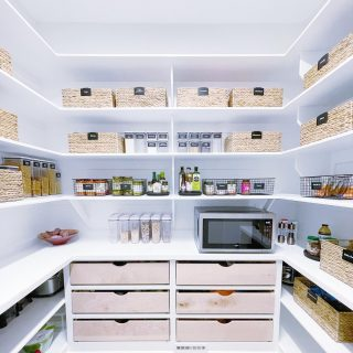 This pantry was definitely one of our all-time favorites to organize!  Check out our stories to see the before!