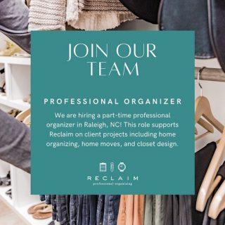 We're hiring! Link in bio.